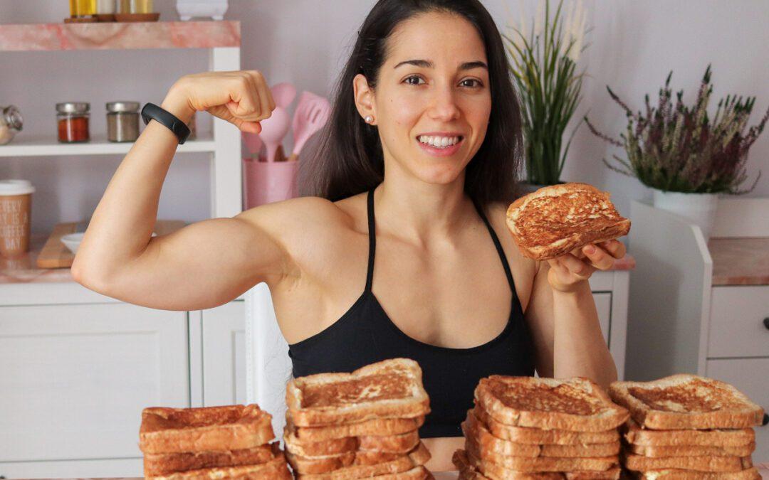 Necesitamos carbohidratos para ganar músculo