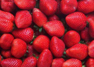 fresas frutas para adelgazar